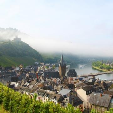 壮大なモーゼルとライン<br/>Magnificent Moselle&Rhine