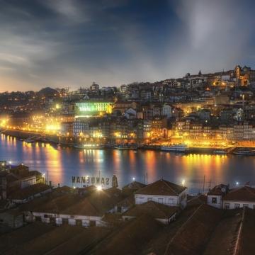 ポルトガル、スペインとドウロ渓谷<br/>Portugal, Spain the Douro River Valley