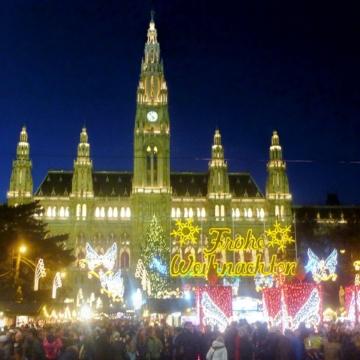 ドナウ4ヵ国のクリスマスマーケット<br>Danube Holiday Markets